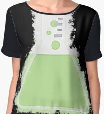 Flask beaker glowing Art Chiffon Top