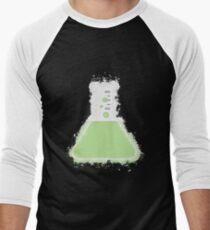 Flask beaker glowing Art Men's Baseball ¾ T-Shirt