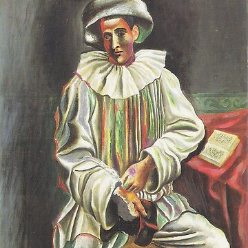 PICASSO Harlequin with mask by TheGrandTour