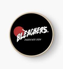 Bleachers Barricade Crew Clock