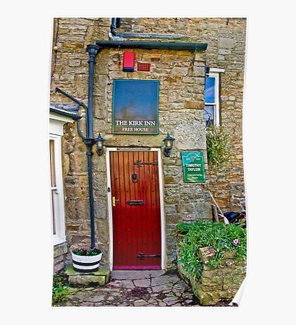 The Kirk Inn - Romaldkirk Co Durham Poster