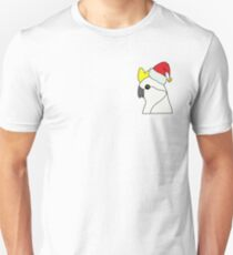Christmas Cockatoo Unisex T-Shirt