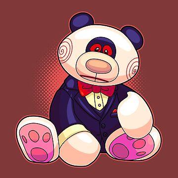 Horror Teddy Bear 3 by artdyslexia