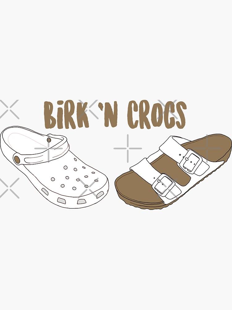 Birk & # 39; n Crocs de 3blondegirls