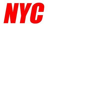 NYC Marathon Runners Apparel by Deesdesigns
