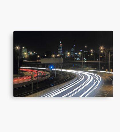 Perth City Traffic  Canvas Print