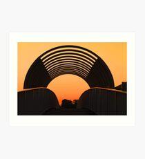 The Overpass  Art Print