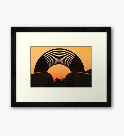 The Overpass  Framed Print