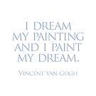 I dream my painting by Randy Coffey