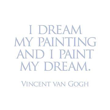 I dream my painting by randycoffey