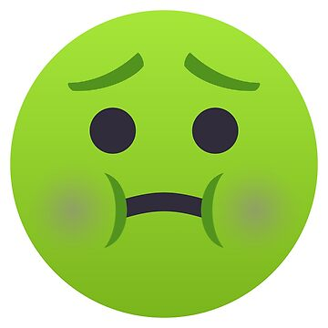 Nauseated Face Emoji by joypixels