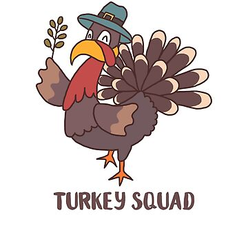 Turkey Squad by WordvineMedia