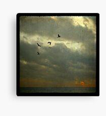 Dark sunrise Canvas Print