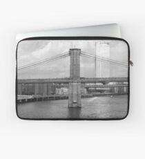 Funda para portátil Fotografía del puente de Brooklyn de Nueva York