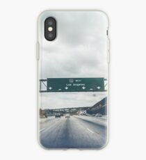 Los Angeles Road Sign California iPhone Case