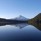 Sunrise, Lost Lake, Oregon by Bob Hortman