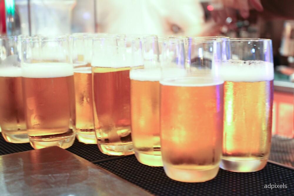 Beer in Glasses by adpixels