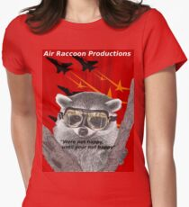 Air Raccoon Productions Women's Fitted T-Shirt