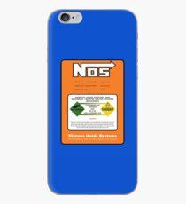 NOS Nitrous Bottle Label iPhone Case