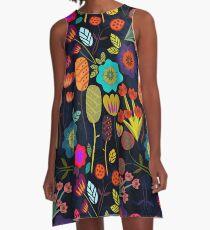 Magical night garden A-Line Dress