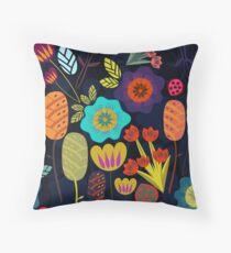 Magical night garden Floor Pillow