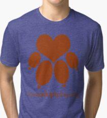 love paw - loveadoptplay.org Tri-blend T-Shirt