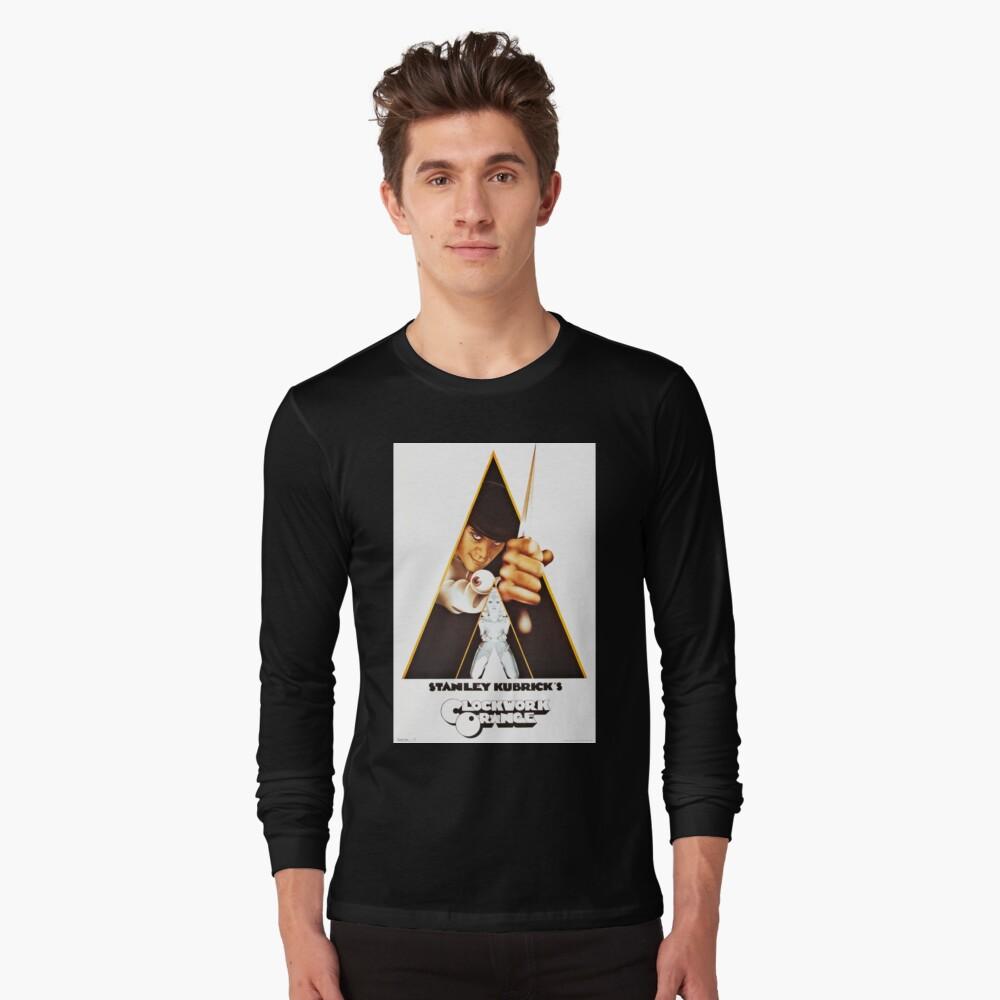 Vintage 1971 A Clockwork Orange, Posters, Movie, Retro Long Sleeve T-Shirt