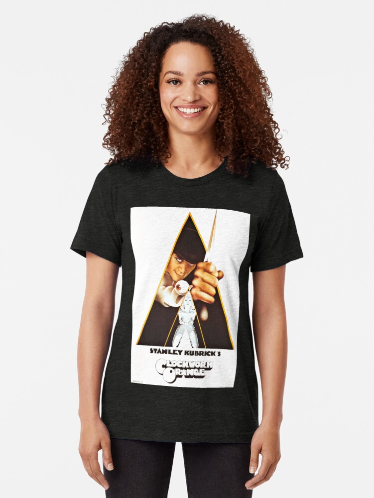 Alternate view of Vintage 1971 A Clockwork Orange, Posters, Movie, Retro Tri-blend T-Shirt