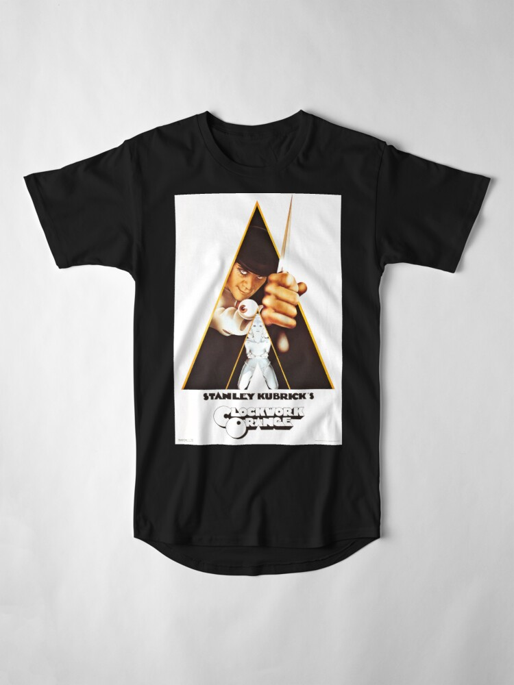 Alternate view of Vintage 1971 A Clockwork Orange, Posters, Movie, Retro Long T-Shirt