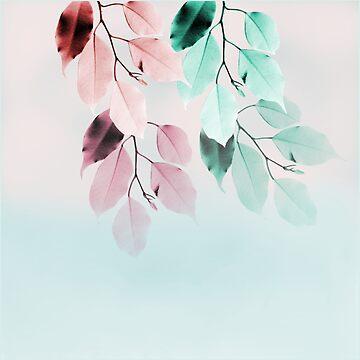 leaves by susana-art