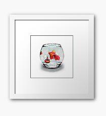 Goldfish Zen Framed Print