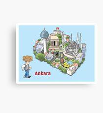 Ankara, the best of Canvas Print
