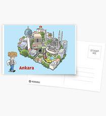 Ankara, the best of Postcards