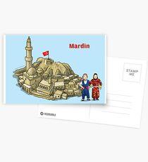 Mardine gel Mardine derman bulak derdine Postcards