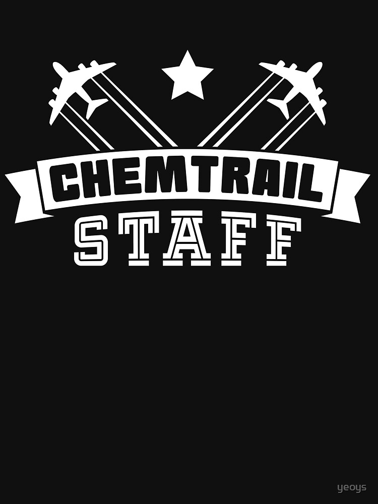 Chemtrail Staff - Funny Aviation Quotes Gift von yeoys