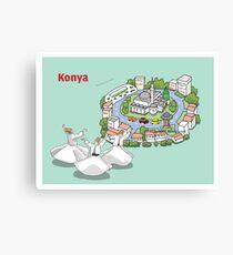 Konya, Mevlana and dervishes Canvas Print