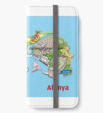 Antalya, oranges and films iPhone Wallet/Case/Skin