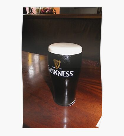 Guinness from the horses mouth Poster