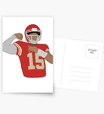 Pat Mahomes - Flex Postcards