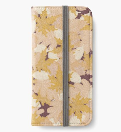 Muted Fall #redbubble #fall iPhone Wallet