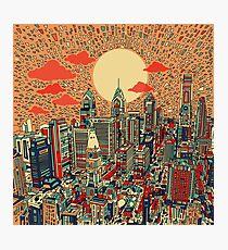 Philadelphia-Panorama 2 Fotodruck