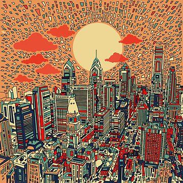 philadelphia panorama 2 by BekimART