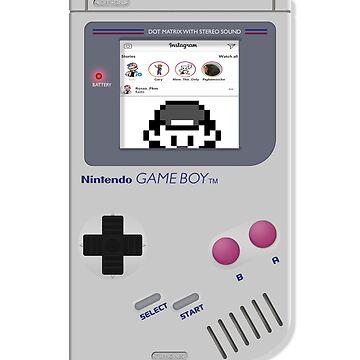 Nintendo Game Boy Social Retro by spikemet