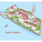 Zadar, my love! by Emir Isovic