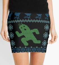 Christmas Cactus Mini Skirt