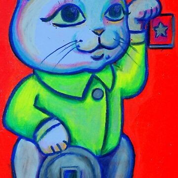 Lucky Cat by kimbaross