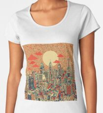 philadelphia panorama 2 Women's Premium T-Shirt