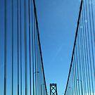 San Francisco Bay Bridge by pat gamwell