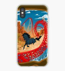 THE WILD ONE Maverick Roller Coaster Cedar Point Theme Park iPhone Case