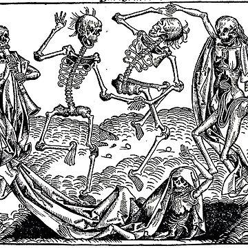Danse macabre - Michael Wolgemut by BestPaintings
